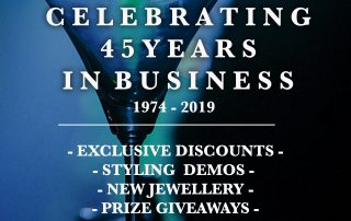 45 Years in Business Michael John Hair Artwork